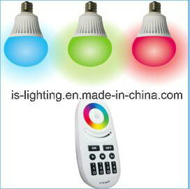 6W E26 E27 B22 Remote Smart LED Bulb LED RGBW Decoration Bulb with Ce RoHS