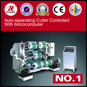 Microcomputer Plastic Slitting Machine pictures & photos