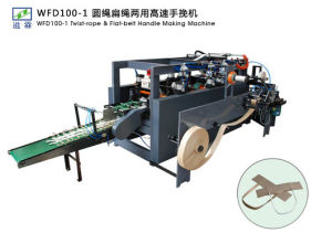 High Speed Twist-Rope & Flat-Belt Handle Making Machine (WFD100-1) pictures & photos