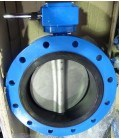 Double Flanged Butterfly Valve pictures & photos