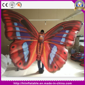 Inflatable Butterfly Wing Stage Inflatable Butterfly Performance Costume for Event Decoration pictures & photos