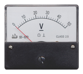 670 Moving Coil Instrument DC Voltmeter pictures & photos