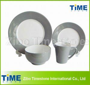 Wholesale Bright Color Ceramic Tableware Set pictures & photos