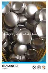 ANSI Butt Welded Pipe Fittings Seamless Stainless Steel 304L Caps pictures & photos