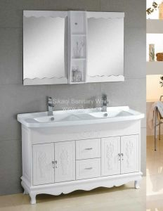 Double Sink Bathroom Cabinet with Cheap Price pictures & photos