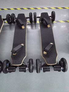 off-Road 4 Wheels Drifting Board 1650X2w Powered Electric Skateboard pictures & photos