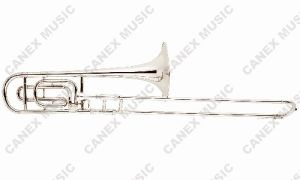 Trombone/Nickel Plated Trombone/Tenor Tuning Slide Trombones (TB23C-N) pictures & photos