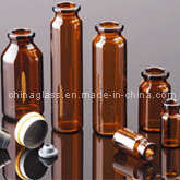 Amber Tubular Vial pictures & photos