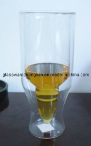High Borosilicate Double Wall Beer Glasses (PJB-05) pictures & photos