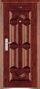 Steel Security Door (JC-081) pictures & photos