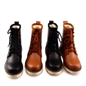 Wholesale Female Lace up Boots
