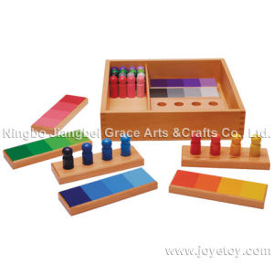 Wooden Toy - Montessori Colore Match Game Sensorial Practise Montessri Way (HE M018-4)