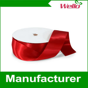 Wholesale Colorful Polyester Satin Ribbon Manufacture in China pictures & photos