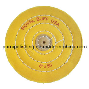 """6""""X50ply Yellow Muslin Buffing Polishing Wheel for Jewelry pictures & photos"""