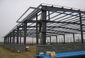 Low Cost Light Steel Frame Warehouse pictures & photos