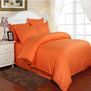 Hotel 40s Cotton Satin Stripe Bedsheet Sets in Stock (DPF1060) pictures & photos