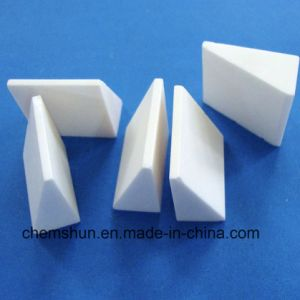 Triangle Alumina Ceramic Block for Rubber Ceramic Liner pictures & photos