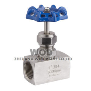 Needle Globe Valve with Handwheel Ss (High pressure) pictures & photos