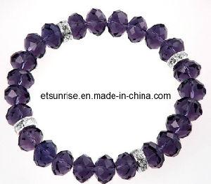 Crystal Bracelet, Semi Precious Stone Bracelet, Fashion Beaded Jewelry Bracelet Bangles (ESB01295) pictures & photos