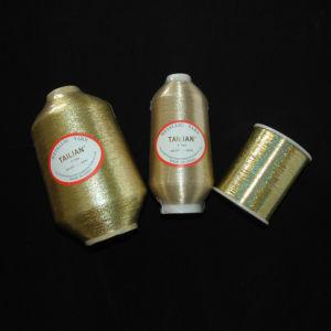 2016 Tailian Ployester Gold Metallic Yarn pictures & photos