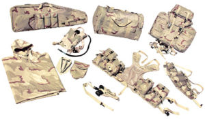 Desert Camoflauge Flied Combat Knapsack/ Backpack Set (RS03-01F) pictures & photos