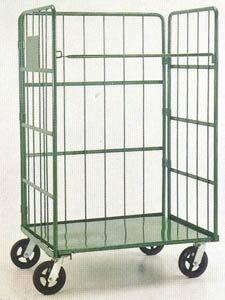 Double Door of Metal Roll Trolley pictures & photos