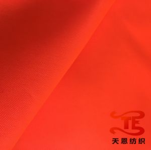 300d PU Milky Polyester Oxford Fabric with Waterproof Coating for Bags pictures & photos