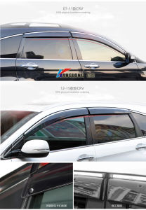 Auto Accesssories Sun Guard Window Side Visor for Hodna Fit 2006 Sedan pictures & photos
