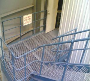 Aluminum Extension Ladder Railing pictures & photos