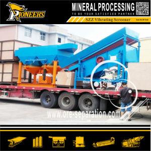 Large Capacity Vibrating Screen Equipment Sand Gravel Washing Separator