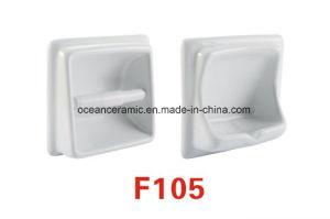 F107 Ceramic Soap Dish, Toilet Paper Holder, Bathroom Accessories pictures & photos