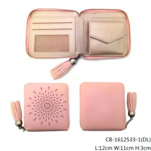 Lady′s Fashion High Quality PU Leather Purse (CB-1612533-1) pictures & photos