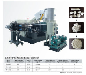 Pet/PA Film Fiber Pellerizing Machine