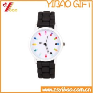 Wholesale High Quality Colorful Silicone Watch (YB-AB-035) pictures & photos