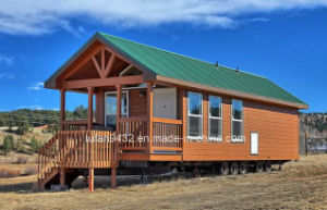 Small Houses on Wheels, Little House Designs, Tiny Manufactured Homes for Sale (TH-080) pictures & photos