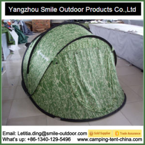Modern Design Camouflage Camping One Minute Pop up Tent pictures & photos