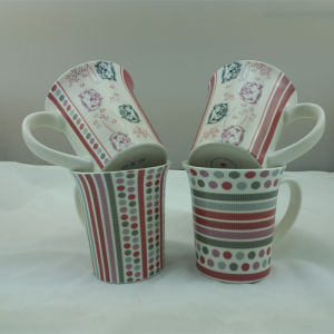 New Design Laba Coffee Mugs with New Bone China Material (JSD-HL-06) pictures & photos