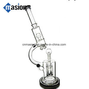 Microscope Glass Smoking Pipe with Recycler Perco (EY004) pictures & photos