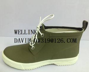High Quality Fashion Ladies Rainboots pictures & photos