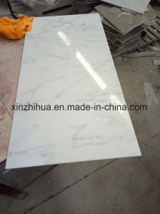 Popular China Calacatta White Marble for Tile/Slab/Bathroom pictures & photos