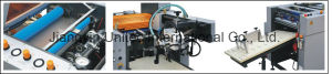 Heavy Duty Automatic Single and Double Sided Roll Laminator Sadf-540 pictures & photos