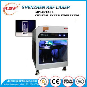 3D Inner Crystal Glass Green Light Laser Marker Engraver pictures & photos