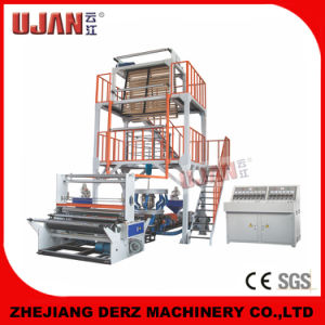 Two-Layer Film Blowing Machine with Rotary Die-Head and Double Rewinding pictures & photos