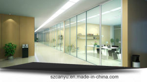 Rational Price Aluminum Frosted Glass Office Partition pictures & photos