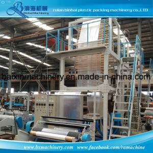 Degradable PE Shopping Bag Film Blowing Machine pictures & photos
