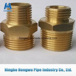 Brass Nut Pipe Connector pictures & photos