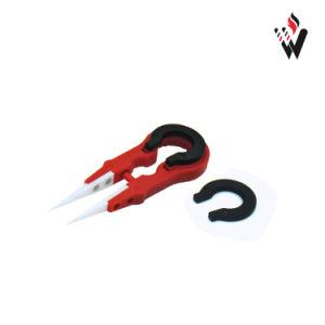 E Cig Vape Tweezer III Multifunctional Tool Designed for Vaper Flexible Material Handle Vapers Colorful Ceramic Tweezer pictures & photos