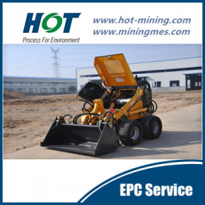 Alh380 Skid Steer Loader Mini Wheel Loader pictures & photos