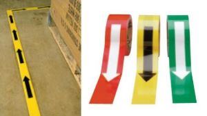 Label Glass Bead Arrow Reflective Tape Back Adhesive pictures & photos