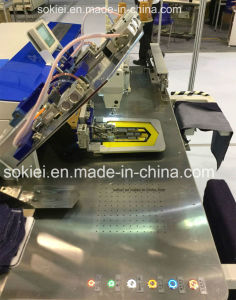 Fully Automatic Intelligent CNC No-Iron Patch Industrial Pocket Sewing Machine pictures & photos